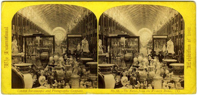 Expo 1862 London [Public domain] via Wikimedia Commons