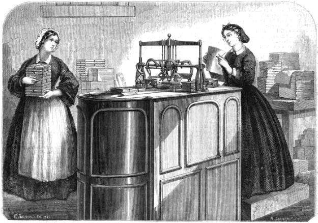 Macchina per la fabbricazione del cioccolato - By Émile Bourdelin (Le Monde illustré, 17 janvier 1863.) [Public domain], via Wikimedia Commons