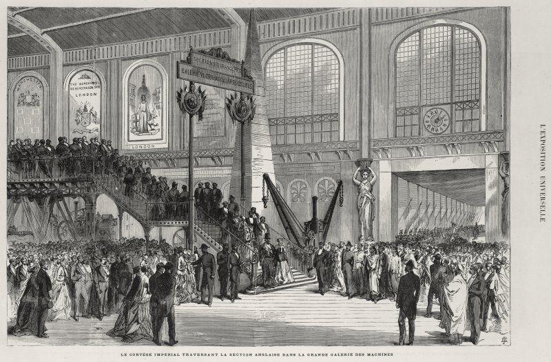 Expo 1867 Parigi - 02 [Public domain], via Wikimedia Commons