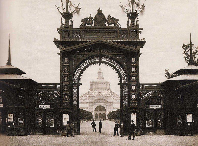 Expo 1873 Vienna - By Michael Frankenstein, Wiener Photographen-Association [Public domain], via Wikimedia Commons