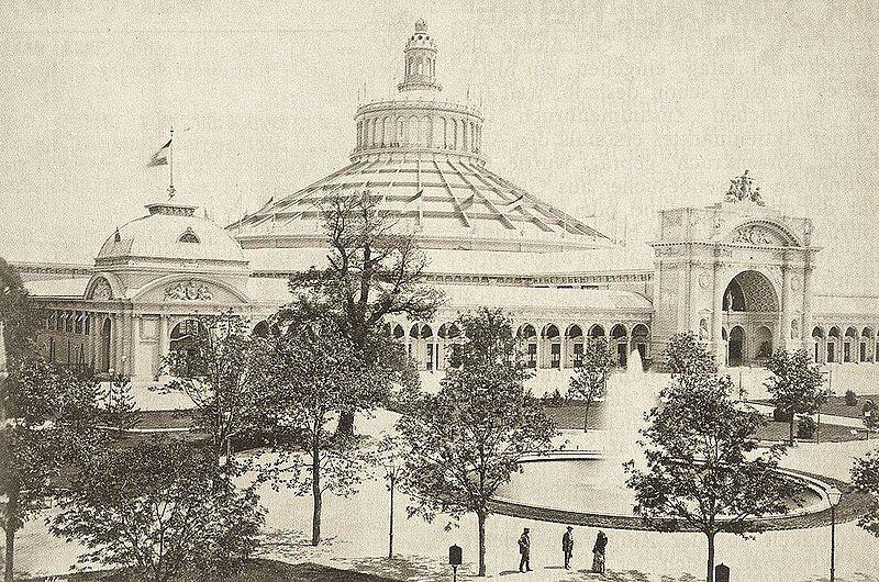 Expo 1873 Vienna, Rotunde - By n-a; original upload by User Newfoundlanddog on de.wikipedia [Public domain], via Wikimedia Commons