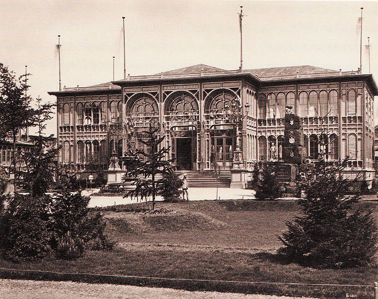 Expo 1873 Vienna, padiglione Krupp Company - By Oscar Kramer, Wiener Photographen-Association [Public domain], via Wikimedia Commons