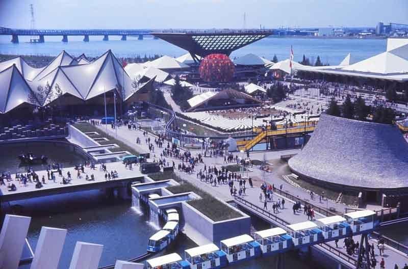 Expo_67,_pavillons_Ontario,_Canada,_Provinces-de-l'Ouest,_et_le_Minirail_Par-Laurent-Bélanger-(Travail-personnel)-[CC-BY-SA-3.0-],-via-Wikimedia-Commons