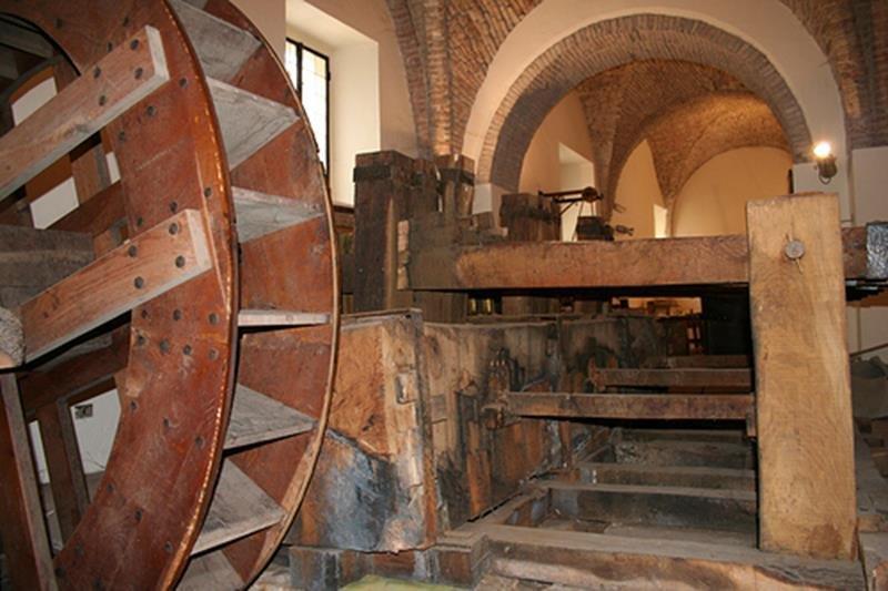 Museo della Carta di Fabriano - Pila a magli multipli