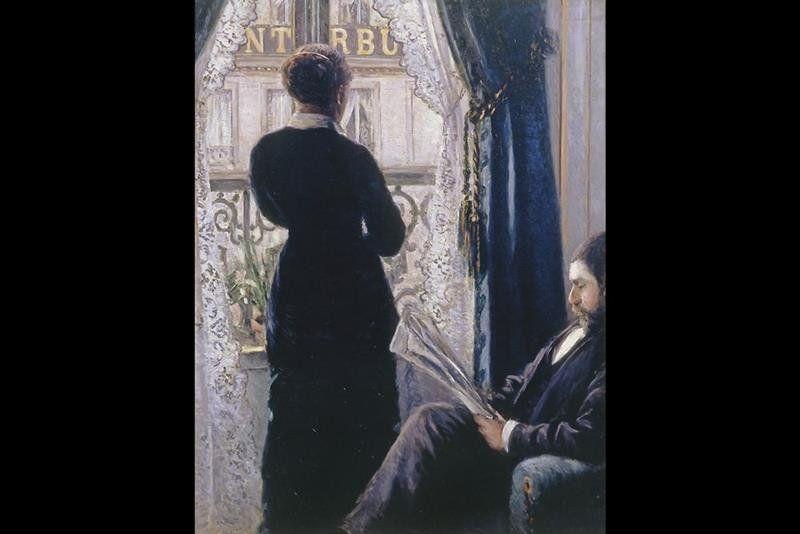 Gustave Caillebotte - Intérieur, Femme à la Fenêtre (1876)