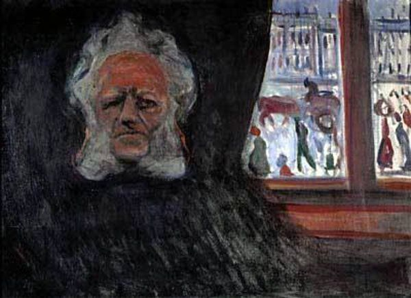 POST-IMPRESSIONISMO ED ESPRESSIONISMO - Edvard Much - Henrik Ibsen at the Grand Cafe
