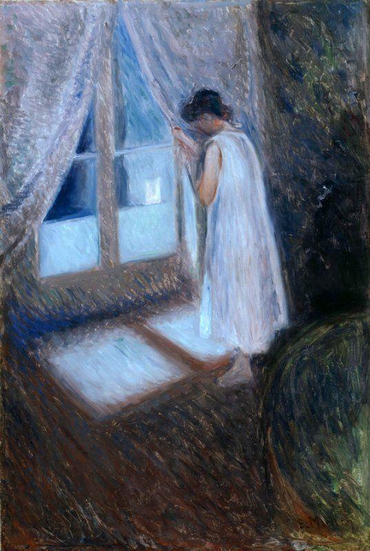 Finestre nell arte post impressionismo ed espressionismo - Quadri con finestre ...