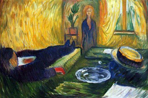 POST-IMPRESSIONISMO ED ESPRESSIONISMO - Edvard Munch - The Murderess, 1906
