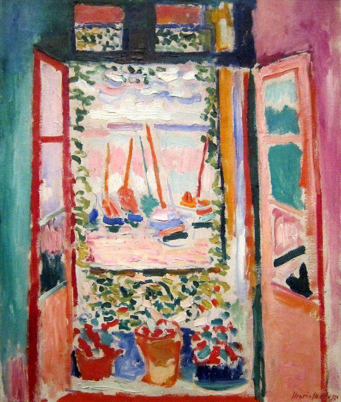 POST-IMPRESSIONISMO ED ESPRESSIONISMO - Henri Matisse - Fenêtre à Collioure - 1905