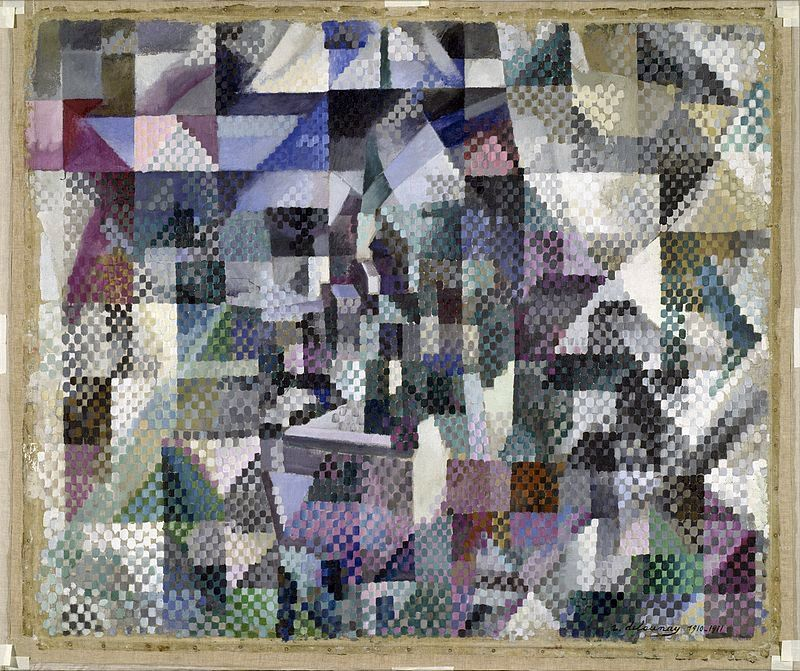 POST-IMPRESSIONISMO ED ESPRESSIONISMO - Robert Delaunay -  Window on the City No. 3, Solomon R., 1911-1912, Guggenheim Museum