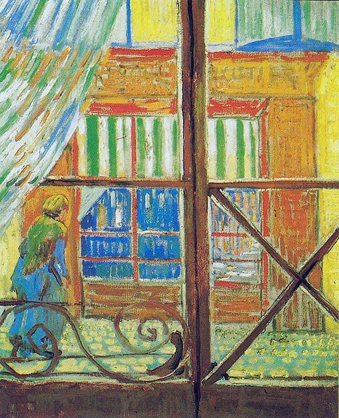 POST-IMPRESSIONISMO ED ESPRESSIONISMO - Van Gogh - Metzgerei, durch ein Fenster gesehen