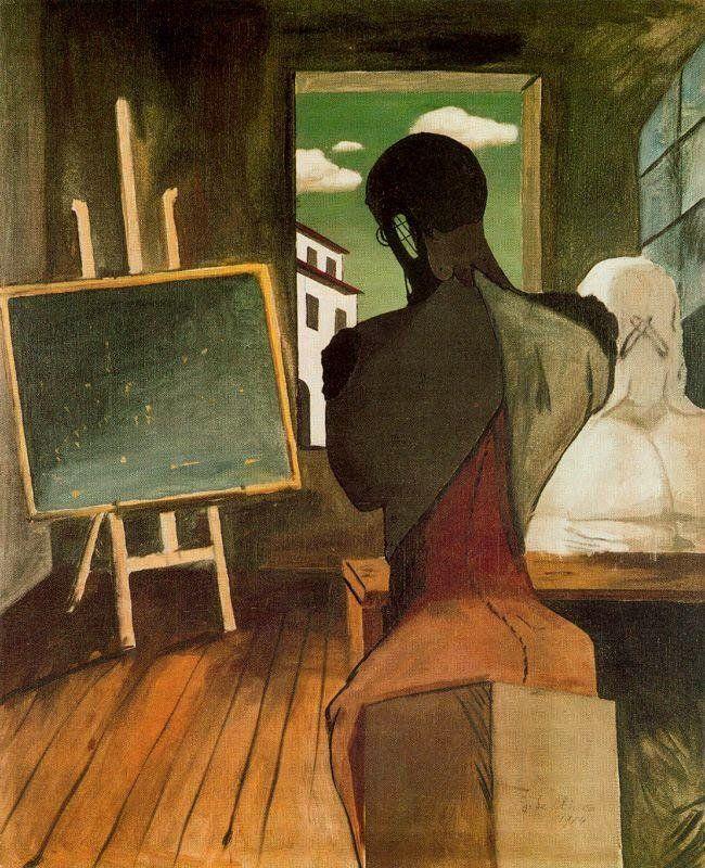 Giorgio De Chirico - Il poeta e il filosofo, 1915 (WikiArt.org)