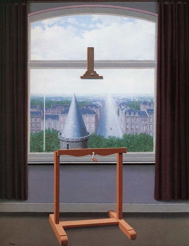 René Magritte - Le passeggiate di Euclide, 1955 (Flikr.com Creative Commons)