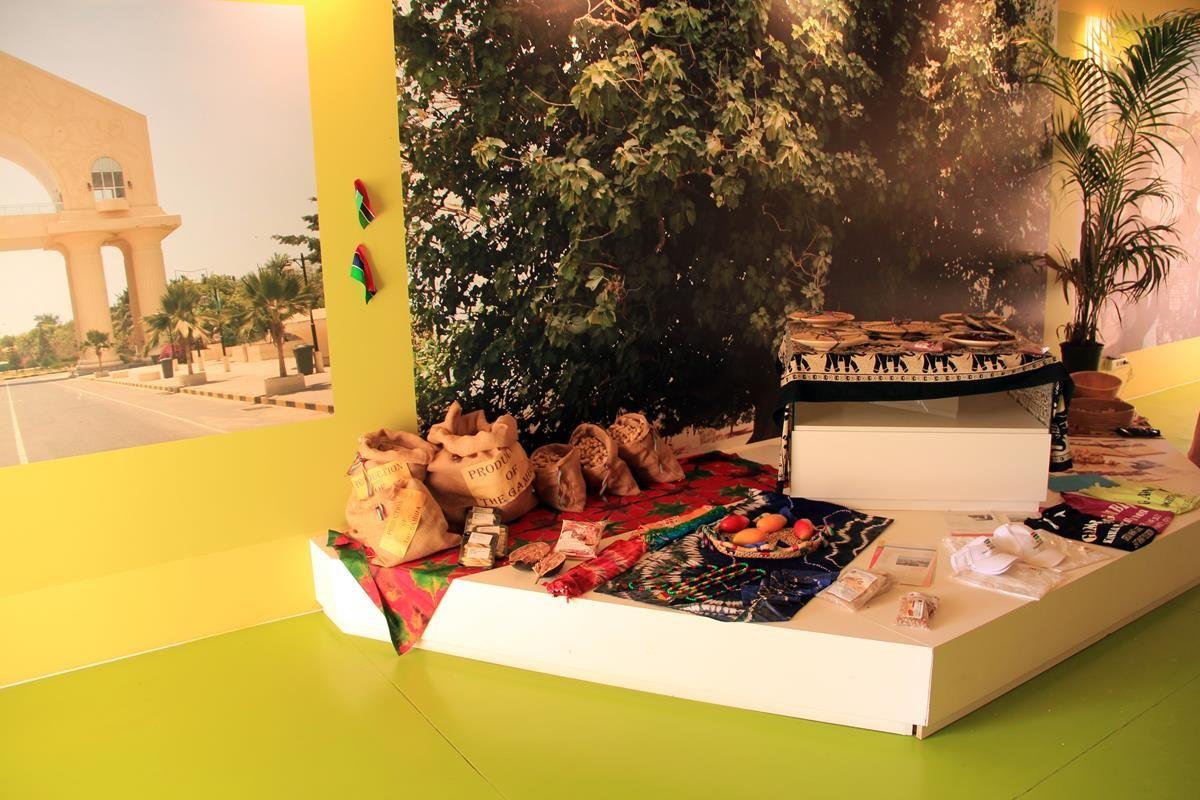 Cluster Frutta e Legumi EXPO 2015 - Gambia - MilanoPlatinum
