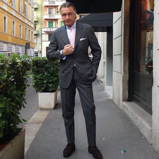 Giampaolo Alliata, una tradizione di classe e di eleganza_vestito grigio_MilanoPlatinum
