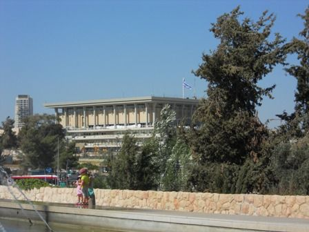 KNESSET_ PARLAMENTO ISRAELIANO GERUSALEMME CITTA' NUOVA