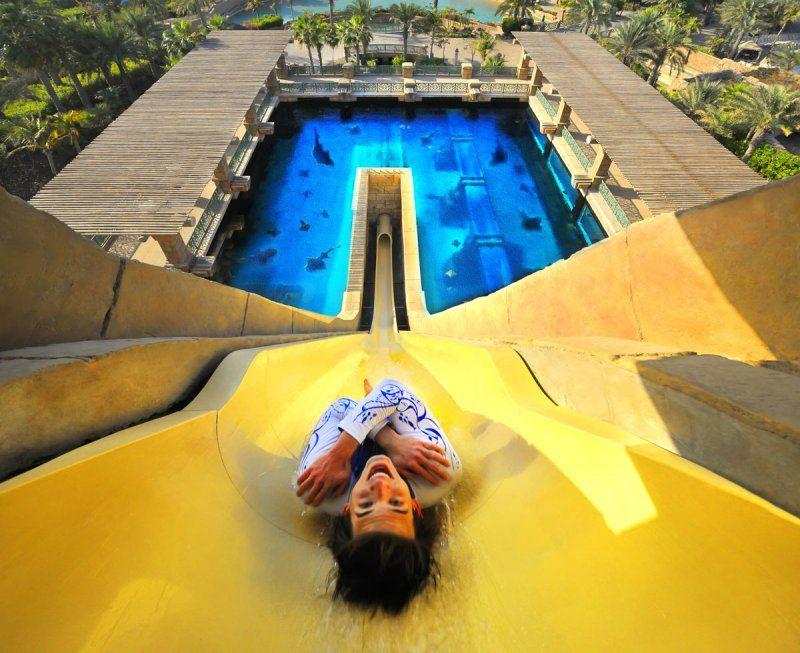 In vacanza a Dubai, 5 motivi per scegliere Atlantis, The Palm _marine_and_waterpark_aquaventure_waterpark_MilanoPlatinum
