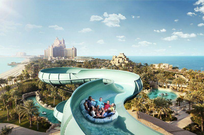 In vacanza a Dubai, 5 motivi per scegliere Atlantis, The Palm_marine_and_waterpark_aquaventure_MilanoPlatinum