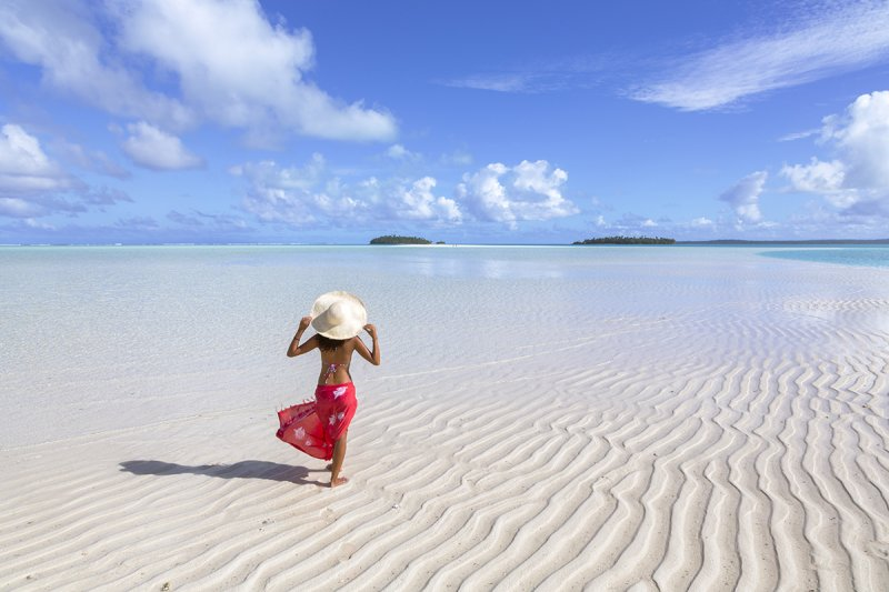 Aitutaki, Cook Islands, Pacific Islands, Oceania