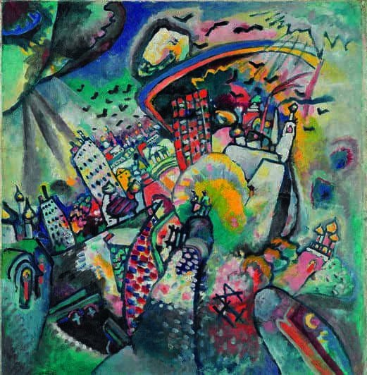 Kandinskij, il cavaliere errante in mostra al Mudec_Mosca. Piazza Rossa, 1916 Olio su cartoncino, cm 51,5 x 49,5 Mosca, Galleria Tret'jakov © State Tretyakov Gallery, Moscow, Russia_MilanoPlatinum