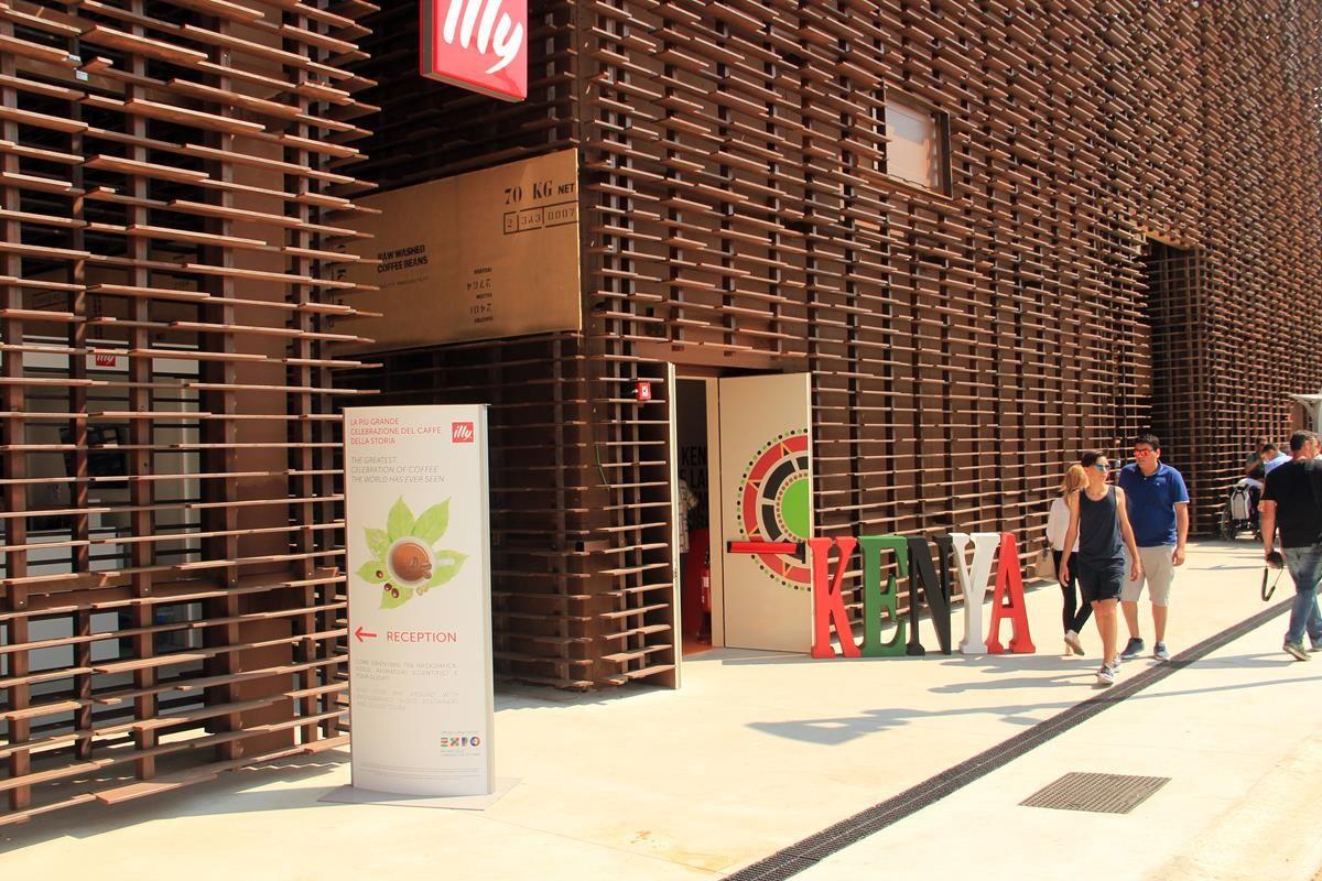 Cluster caffè EXPO 2015 - Kenya - MilanoPlatinum