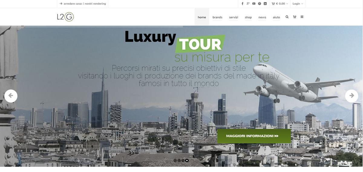 L2G shop: dal rendering al luxury tour_plane_MilanoPlatinum