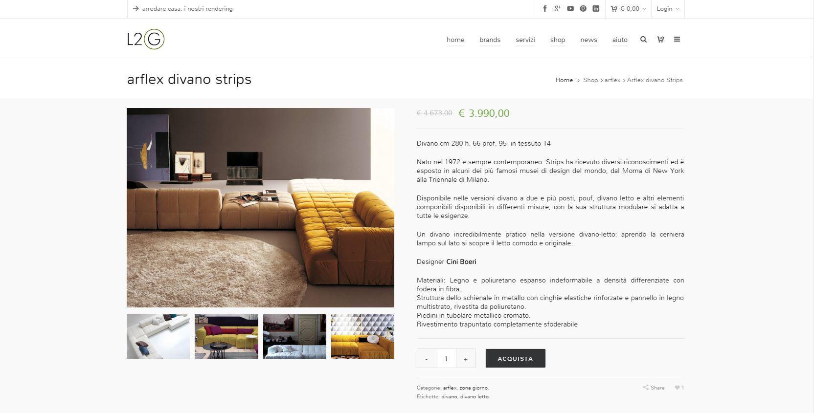 L2G shop: dal rendering al luxury tour_divano_MilanoPlatinum