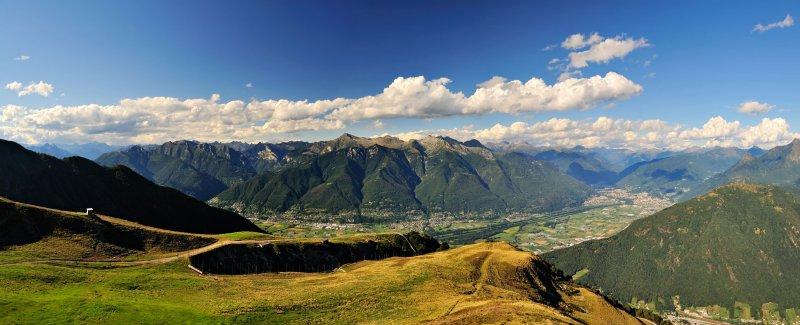 Panorama dall'Alpe Foppa