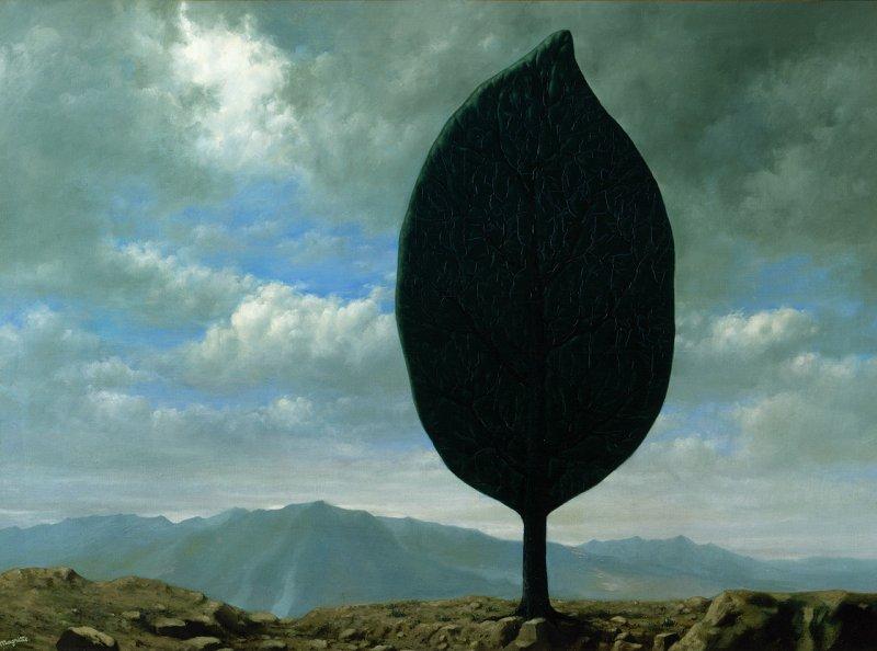 RenÈ Magritte, La plaine de l'air, 1940, © PhotothËque R. Magritte / Adagp Images, Paris, 2018