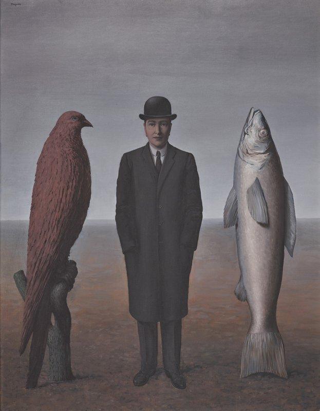 """René Magritte """"La présence dèsprit"""" L 9/2017 Museum Folkwang, Essen"""