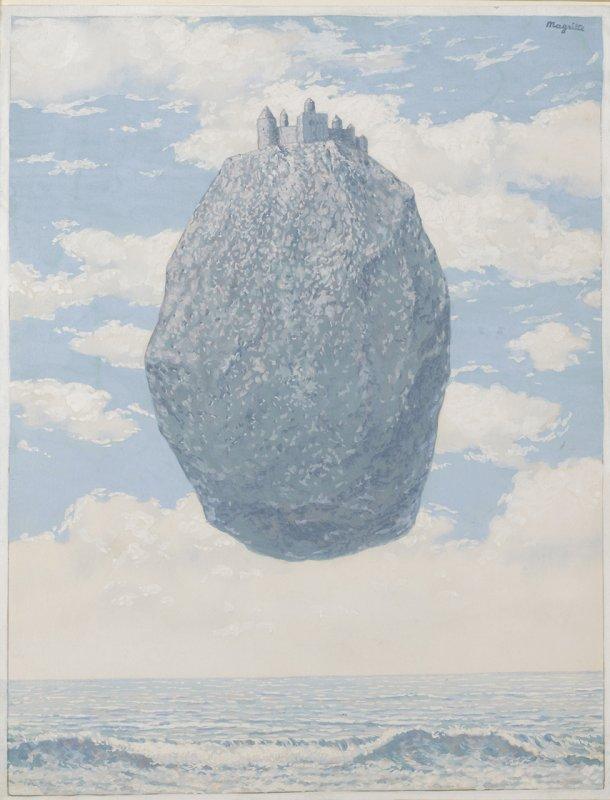 09.-R.-Magritte_Le-chateau-des-PyrÇnÇes_1962