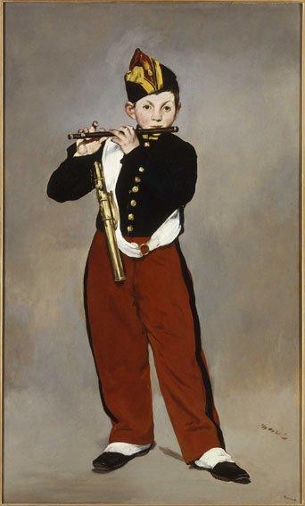 Édouard Manet, Il pifferaio, 1866, Olio su tela, 161 x 97 cm, Parigi, Musée d'Orsay © René-Gabriel Ojéda / RMN-Réunion des Musées Nationaux/ distr. Alinari