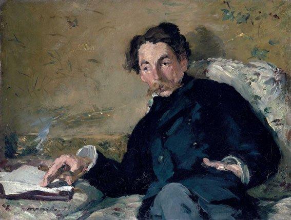 Édouard Manet, Stéphane Mallarmé, 1876, Olio su tela, 27,2 x 35,7 cm, Parigi, Musée d'Orsay © René-Gabriel Ojéda / RMN-Réunion des Musées Nationaux/ distr.