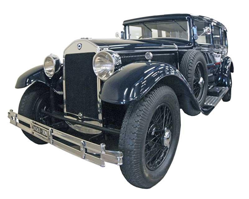 """FCA protagonista di """"Milano AutoClassica""""_lancia_dilambda-1935_MilanoPlatinum"""