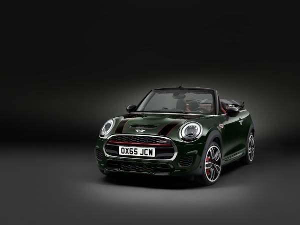 La nuova Mini John Cooper Works Cabrio_MilanoPlatinum