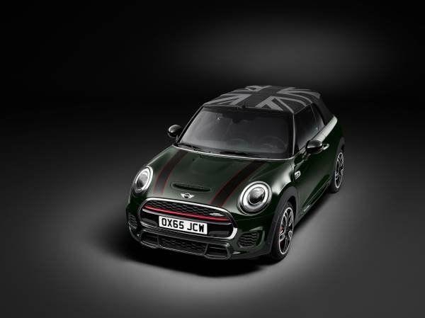 La nuova Mini John Cooper Works Cabrio_anteriore_MilanoPlatinum