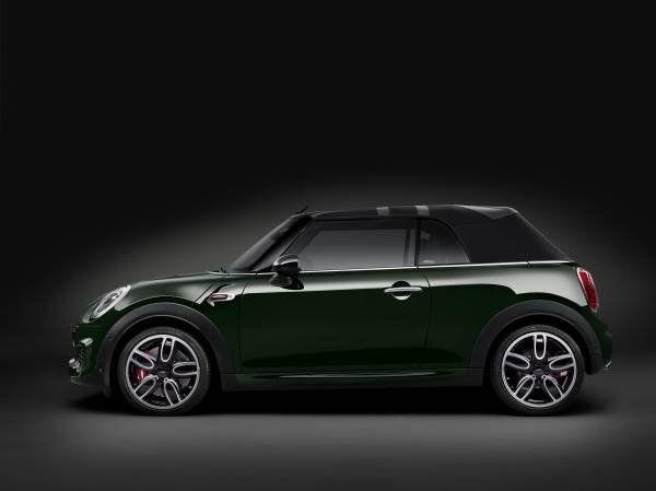 La nuova Mini John Cooper Works Cabrio_lato_MilanoPlatinum