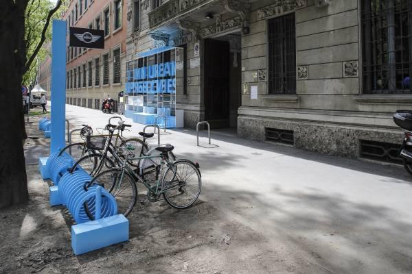 Minidesignweek Mini Urban Perspectives_minibike_MilanoPlatinum