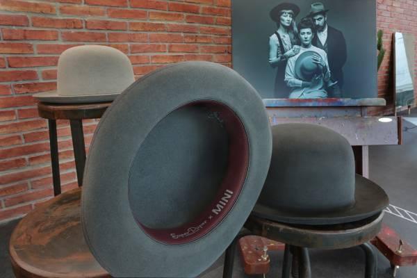 Mini capsule collection al Pitti Uomo_hat_MilanoPlatinum
