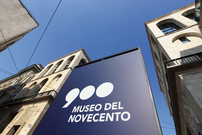 Museo del Novecento_logo_MilanoPlatinum