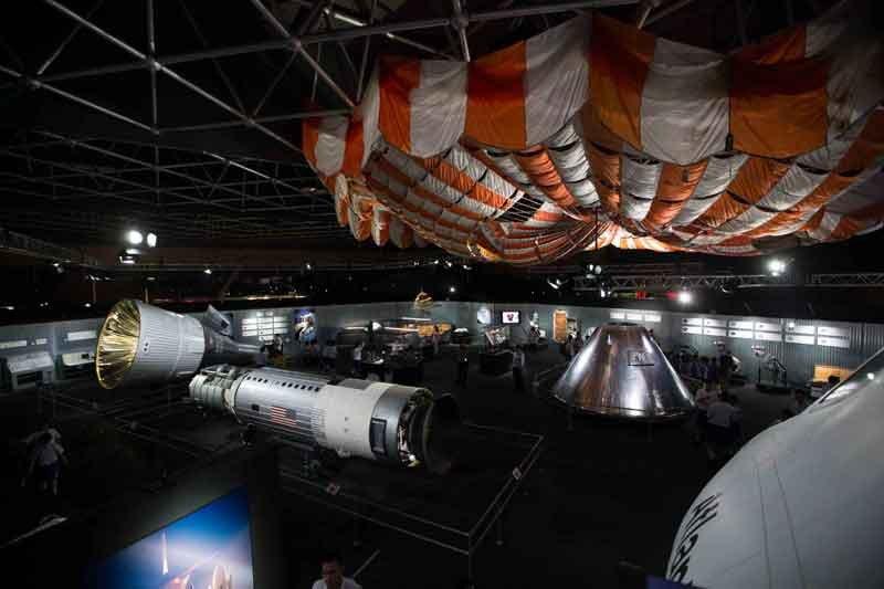 """02.-NASA---A-Human-Adventure_La sezione """"Innovazione"""" Photo courtesy of John Nurminen Events B.V."""