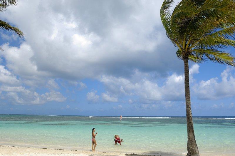 Caraïbes Antilles Françaises Guadeloupe la grande terre plage de la caravelle à Sainte Anne