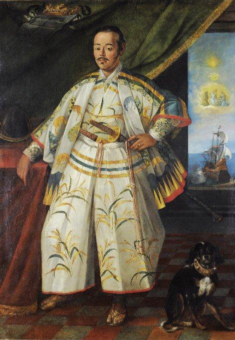 Attribuito a Archita Ricci (1560-1635) Ritratto di Hasekura Tsunenaga 1615 ca. Olio su tela Proprietà privata della famiglia Cavazza Isolani, Bologna [s.n.]