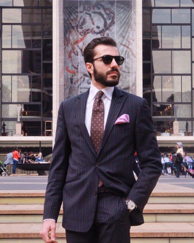 Peter Mazzei, lo stile italiano vola negli States_abito blu_MilanoPlatinum