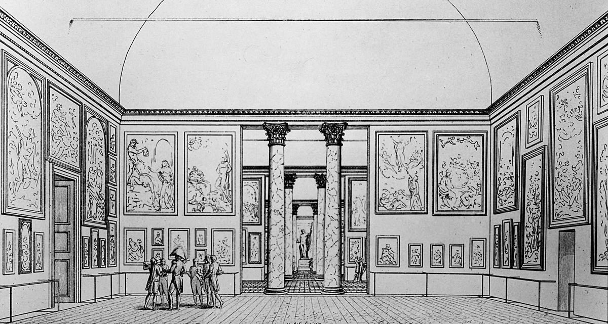 La Pinacoteca di Brera_sala_MilanoPlatinum