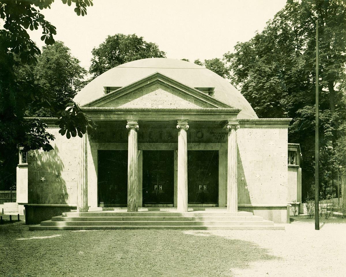 Il cielo sopra Milano 2: storia del planetario Ulrico Hoepli_tempio_MilanoPlatinum