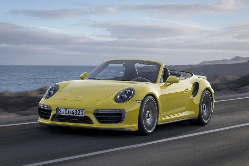 A gennaio il debutto della nuova Porsche 911 Turbo e 911 Turbo S_frontale_MilanoPlatinum