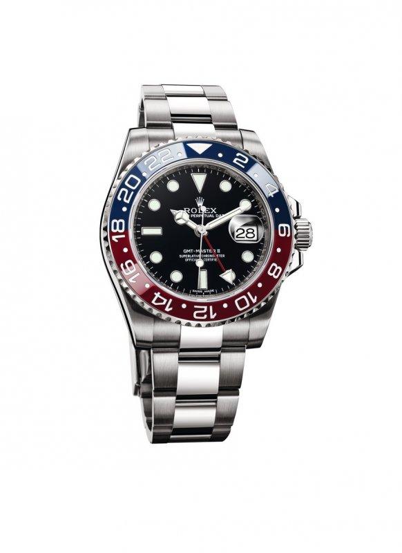 Rolex GMT-Master II l'orologio dei piloti_blu rosso_MilanoPlatinum