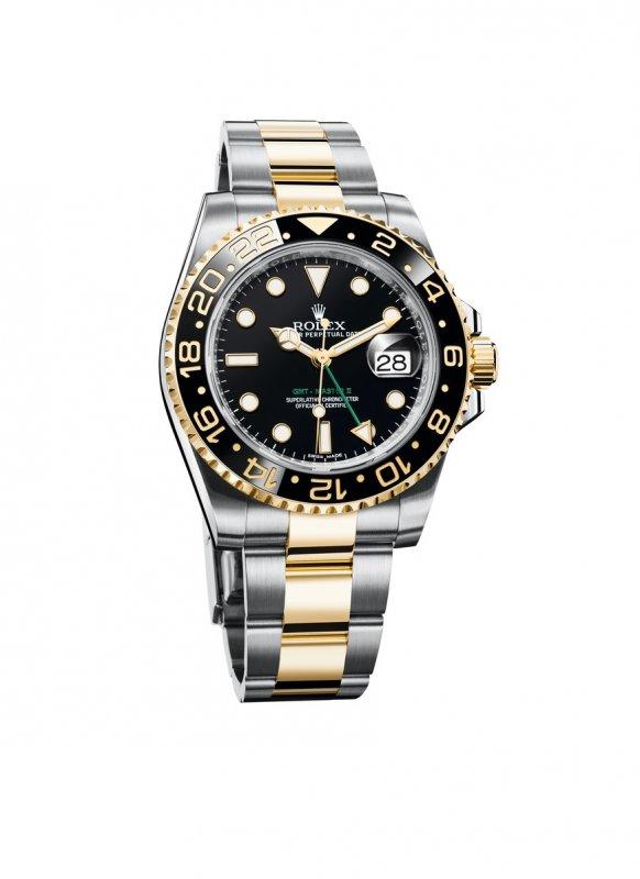 Rolex GMT-Master II l'orologio dei piloti_oro acciaio_MilanoPlatinum