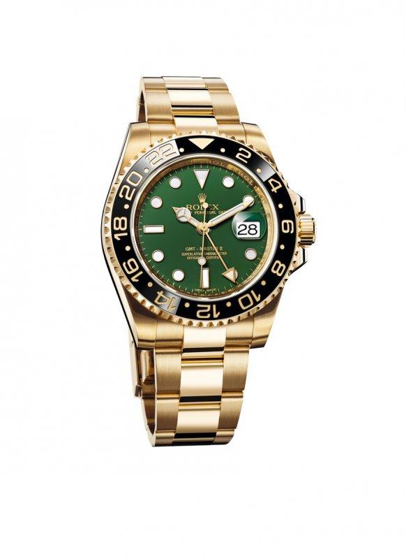 Rolex GMT-Master II l'orologio dei piloti_oro verde_MilanoPlatinum